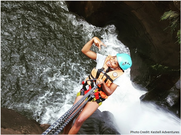 Adrenaline Rush Graskop, Abseiling with Kestell Adventures